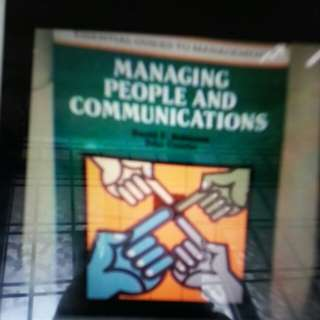 Managing people and communications