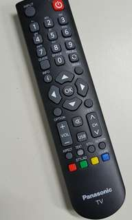 Panasonic TV remote controller : 06-520W37-PA03X
