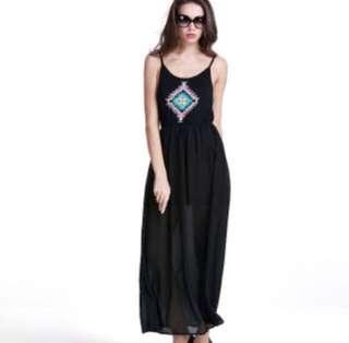 BNWT Geometric Maxi Dress