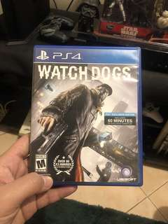 WATCH DOGS PS4 FOR SALE OR TRADE GTA V