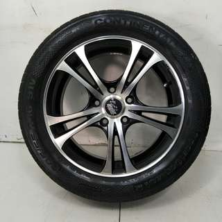 16 '' Sport Rim With Tyre 5x114.3 (SR954)