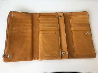 Status anxiety wallet - used, good condition