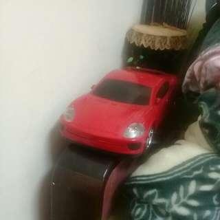 大紅色跑車 型CD音響
