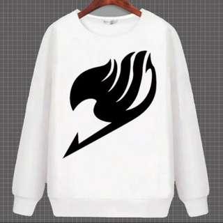Fairy Tail Manga Edition Anime Pullover Sweater Shirt