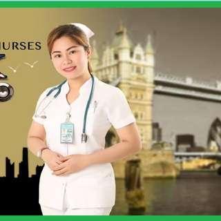 Job Hiring! Nurses for United Kingdom