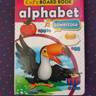 Alphabet book & word book