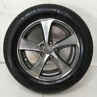 16 '' Sport Rim With Tyre 5x114.3 (SR956)
