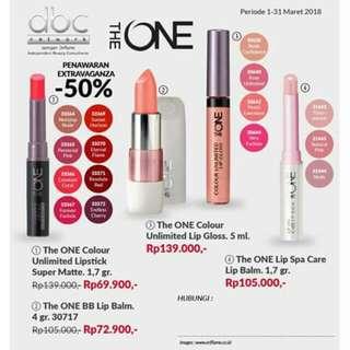 lipstik the one oriflame