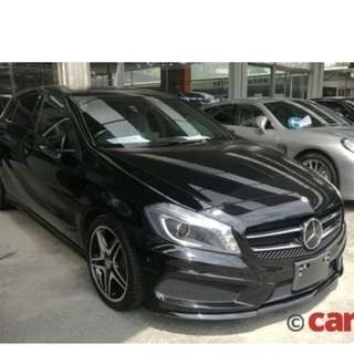 MERCEDES BENZ A180 1.6 AMG SPORT NIGHT PACK