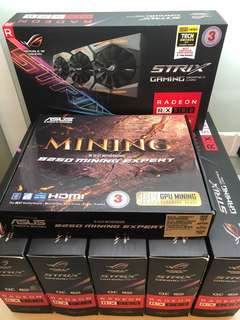 Asus Strix OC 8GB RX 580 Money Printing Rig