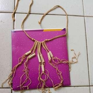 Vintage Greek necklace