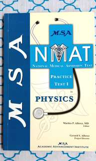 MSA NMAT Reviewers (Biology, Physics, Chemistry, Inductive Reasoning)