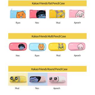preorder: KAKAO FRIENDS pencil cases