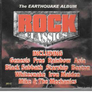 MY PRELOVED CD - ROCK CLASSIC - THE EARTHQUAKE ALBUM -/ FREE DELIVERY (F3L)