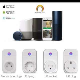 Wi-Fi Smart plug with Wi-Fi network