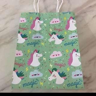 Goody bag - unicorns unisex color