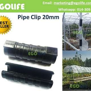 Pipe Clip 20mm for Farm Garden Greenhouse Tube Pipe Hose PP Clip