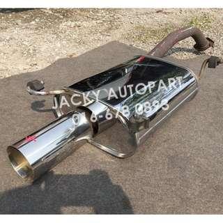 """Muffler Exhaust Nismo Calsonic Sport Sflow 2.1"""" Jp"""