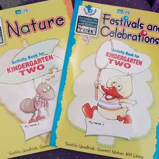 Activity book for K1 & K2