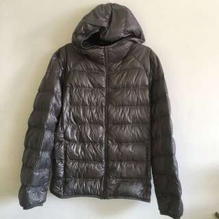 Uniqlo Premium Down Winter Jacket puffer bubble with hood