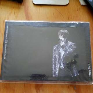 BTS JIN ESSAY BOOK WITH PHOTOCARD