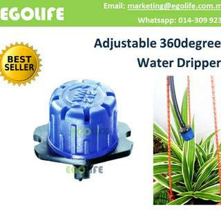 Water Dripper Sprinkler Adjustable 360 degree Irrigation Garden and Farm