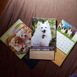 *Free* Cats & Dogs calendars