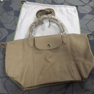 Longchamp Le Pliage Cuir (Leather)