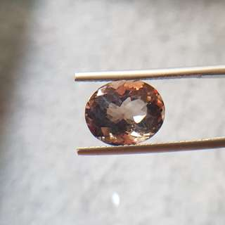 4.54ct Natural Brown Quartz - Certified