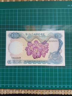 🇸🇬Orchid🌸 $ 50 LSK No red seal A/1 822529