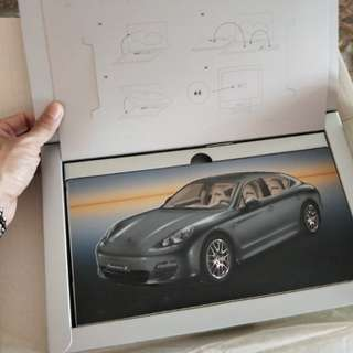 Porsche Panamera launch book collectible 2009