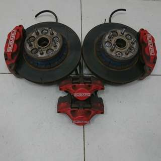 Subaru Impreza GD5 Rotor Disc & Caliper (AS2267)