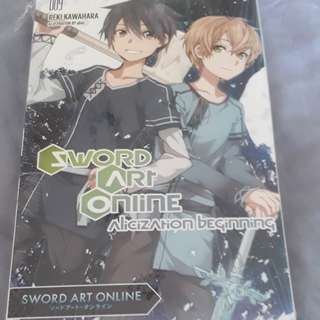Sword Art Online LN 009 Alicization Beginning