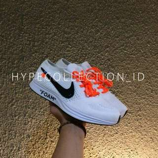 Nike Air Flyknit Racer X Off White UA Quality