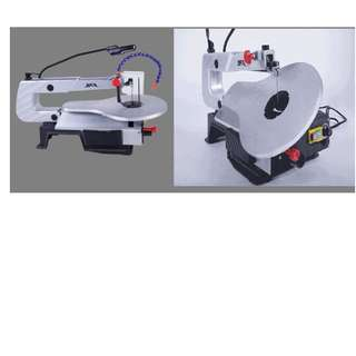 Brand new scroll saw with 45 degree tilt function better than circular jigsaw band saw with wide table work area perfect for DIY Hooybist