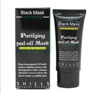 Authentic original SHILLS Blackhead Remove Facial Masks Deep Cleansing Purifying Peel Off Black Nud Facial Face black Mask