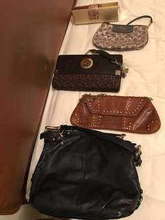 Bags and purses for sale(GUCCI,DKNY,COACH,evening clutch)
