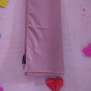 Pashmina Katun Ima dusty pink masih baru belum pernah dipakai