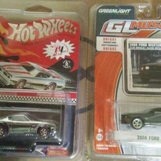 Hot wheels greenlight GL mustang