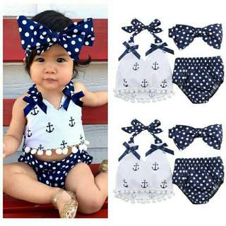 Anchor Swimsuit / Swimwear For 0 To 24 Mo