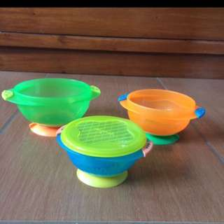 REPRICED Suction bowls