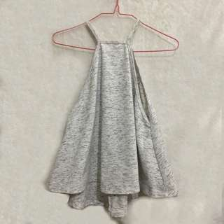 🌸SALE ALERT🌸 Choose 3 items for P300 OR 5 items for P500 only! (Except for branded items) No shipping fee included!! | Gray Halter Top