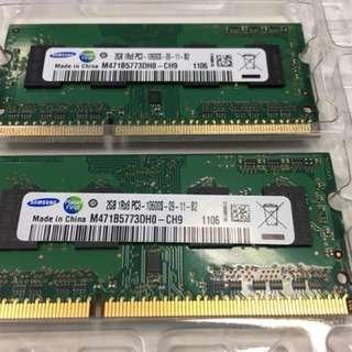 Samsung 2GB 1rx8 dimm Laptop Ram