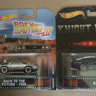 Hot wheels retro kitt bttf hotwheels