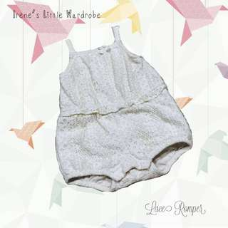 H&M baby lace Romper