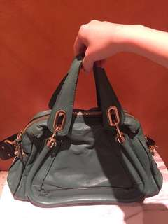 95%new Chloe Paraty two ways bag