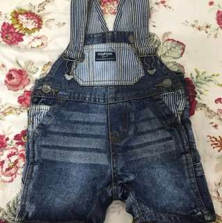 Baby overall jeans 6 month