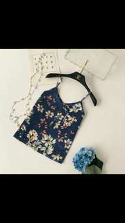 (PO) floral camisole basic top