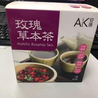玫瑰草本茶(瘦身、減肥)