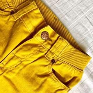 H&M Mustard Denim Pants